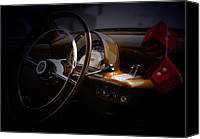 Classic Automobiles Canvas Prints - Red Dice  Canvas Print by Steven  Digman