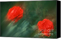 Renata Ratajczyk Canvas Prints - Red Roses 55-43-S Canvas Print by Renata Ratajczyk