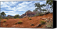 Dan Turner Canvas Prints - Red Sands of Sedona Canvas Print by Dan Turner