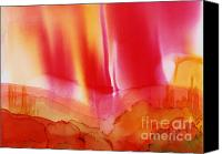 Angel Mermaids Ocean  Canvas Prints - Red Sky over Bryce Canvas Print by Joyce Auteri