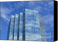 Sky Canvas Prints - Reflected Sky Canvas Print by Methune Hively