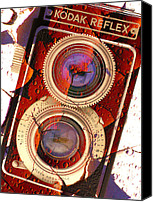 Film Camera Canvas Prints - Reflex II Canvas Print by Mike McGlothlen