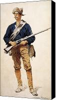 Remington Canvas Prints - Remington: Soldier, 1901 Canvas Print by Granger