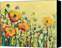 Poppies Canvas Prints - Reminiscing on a Summer Day Canvas Print by Jennifer Lommers
