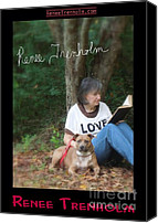 Autographed Art Canvas Prints - Renee Trenholm . SIGNED Canvas Print by Renee Trenholm