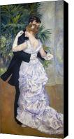 Impressionism Canvas Prints - Renoir: Town Dance, 1883 Canvas Print by Granger