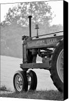 Jd Grimes Canvas Prints - Resting in Black-and-white Canvas Print by JD Grimes