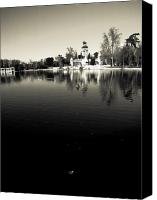 Retiro Canvas Prints - Retiro Canvas Print by Felix M Cobos