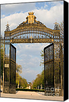 Retiro Canvas Prints - Retiro Park Entrance in Madrid Canvas Print by Artur Bogacki