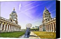 Naval College Canvas Prints - Return from the past. Canvas Print by Ludmila Nayvelt