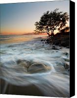 Lahaina Canvas Prints - Return to the Sea Canvas Print by Mike  Dawson