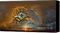 Field Digital Art Canvas Prints - Revelation Canvas Print by Franziskus Pfleghart