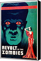 Horror Fantasy Movies Canvas Prints - Revolt Of The Zombies, 1936 Canvas Print by Everett