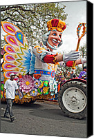Asking Canvas Prints - Rex Mardi Gras Parade III Canvas Print by Steve Harrington