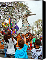 Asking Canvas Prints - Rex Mardi Gras Parade VI Canvas Print by Steve Harrington
