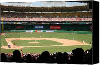 Washington Nationals Canvas Prints - RFK Stadium Canvas Print by Lance Freeman