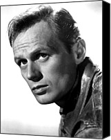 Publicity Shot Canvas Prints - Richard Widmark, Late 1940s Canvas Print by Everett