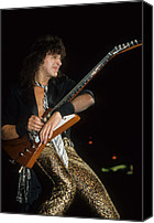 Rich Fuscia Canvas Prints - Richie Sambora Canvas Print by Rich Fuscia