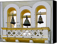 Chimes Canvas Prints - Ring My Chimes Canvas Print by Al Bourassa