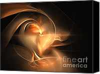 Dana Haynes Canvas Prints - Ring Of Fire Canvas Print by Dana Haynes