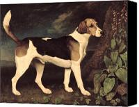 Dogs Painting Canvas Prints - Ringwood Canvas Print by George Stubbs