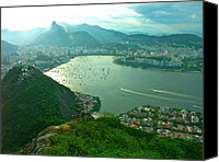 Landscape Jewelry Canvas Prints - RIO de JANIERO. BREATHTAKING  Canvas Print by Michael Clarke JP