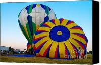 Baloons Canvas Prints - Rising For The Relay  Canvas Print by Jeff  Swan