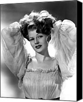 Publicity Shot Canvas Prints - Rita Hayworth, Columbia Pictures, 1940s Canvas Print by Everett