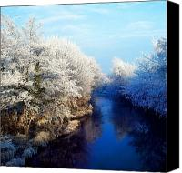 White River Scene Canvas Prints - River Bann, Co Armagh, Ireland Canvas Print by The Irish Image Collection