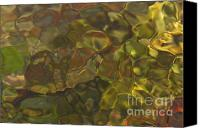 Close Up Canvas Prints - River Light Patterns Canvas Print by Clarence Holmes