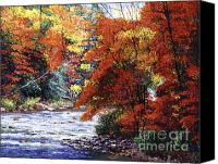 Best Choice Canvas Prints - River of Colors Canvas Print by David Lloyd Glover