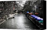 Riverwalk Canvas Prints - Riverwalk Canvas Print by Shane Rees