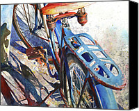 Wheels Canvas Prints - Roadmaster Canvas Print by Andrew King