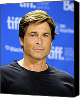 At The Press Conference Canvas Prints - Rob Lowe At The Press Conference Canvas Print by Everett