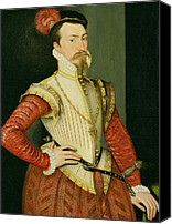 Van Dyke Canvas Prints - Robert Dudley - 1st Earl of Leicester Canvas Print by Steven van der Meulen
