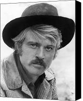 1969 Canvas Prints - Robert Redford (1936-) Canvas Print by Granger