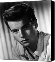 1950s Portraits Canvas Prints - Robert Wagner, 1950s Canvas Print by Everett
