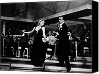 1935 Movies Canvas Prints - Roberta, Ginger Rogers, Fred Astaire Canvas Print by Everett
