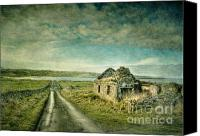 Derelict Canvas Prints - Robinsons I Canvas Print by Marion Galt