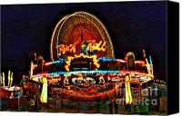 Photographers Atlanta Canvas Prints - Rock and Roll at the County Fair Canvas Print by Corky Willis Atlanta Photography
