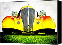 Custom Automobile Canvas Prints - Rockon Rod Canvas Print by Phil