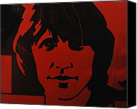 Roger Waters Canvas Prints - Roger Waters Canvas Print by Rob Hans