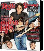 Derek Canvas Prints - Rolling Stone Cover - Volume #1020 - 2/22/2007 - John Mayer, Derek Trucks, John Frusciante Canvas Print by Matthew Rolston