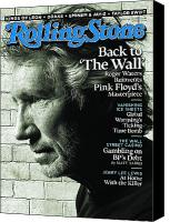 Roger Canvas Prints - Rolling Stone Cover - Volume #1114 - 9/30/2010 - Roger Waters Canvas Print by Watson Albert