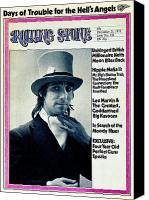 Moon Canvas Prints - Rolling Stone Cover - Volume #124 - 12/21/1972 - Keith Moon Canvas Print by Bob Gruen