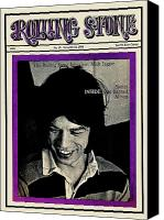 Magazine Cover Canvas Prints - Rolling Stone Cover - Volume #19 - 10/12/1968 - Mick Jagger Canvas Print by Ethan Russell