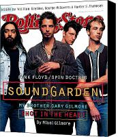 Magazine Cover Canvas Prints - Rolling Stone Cover - Volume #684 - 6/16/1994 - Soundgarden Canvas Print by Mark Seliger
