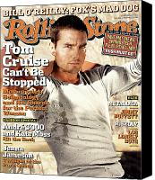 Cruise Photo Canvas Prints - Rolling Stone Cover - Volume #956 - 9/2/2004 - Tom Cruise Canvas Print by Tony Duran