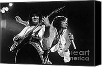 The Rolling Stones Canvas Prints - Rolling Stones  Canvas Print by Homer Sykes