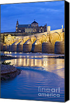 Great Mosque Canvas Prints - Roman Bridge on Guadalquivir River at Dawn Canvas Print by Artur Bogacki